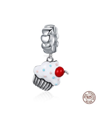 Silver charm ice cream cherry