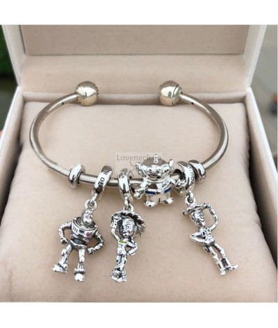 Silver charm alien toy story