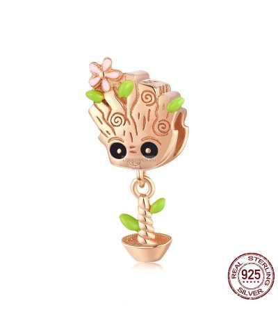 Silver charm groot