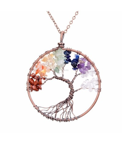 Pendant tree of life 7 colors | Loveneck