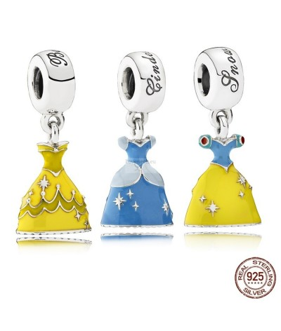 Silver charm disney princesses