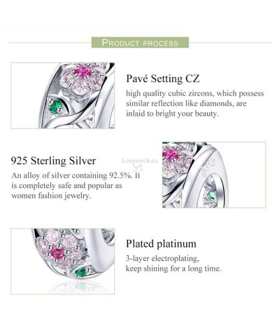 Silver charm roses