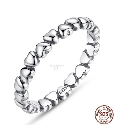 Silver ring love | Loveneck