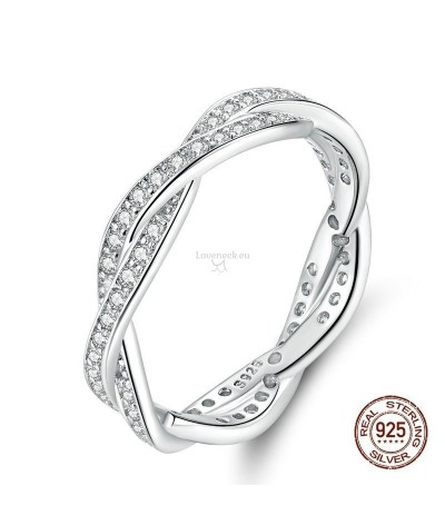 Silver ring cross | Loveneck