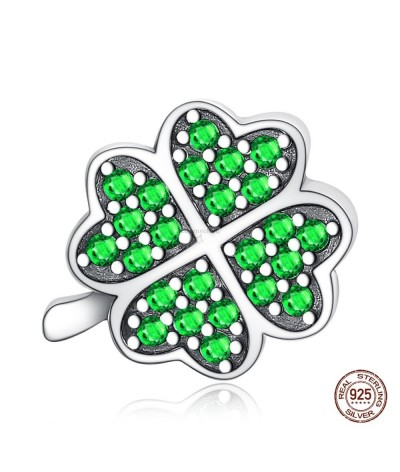 Silver charm clover