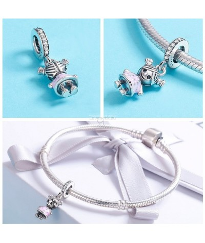 Silver charm boy and girl